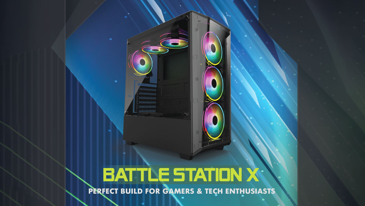 GELID Solutions Launches BATTLE STATION X Gaming Case