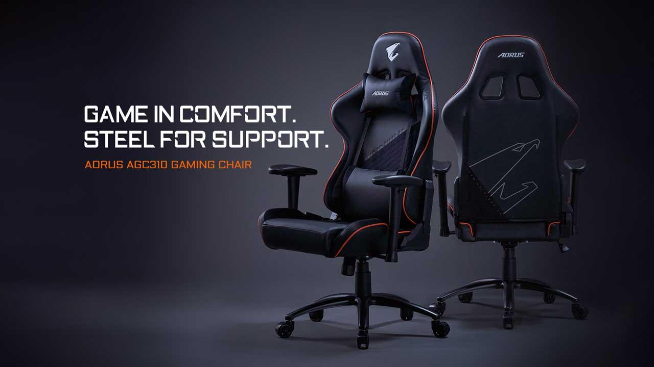 GIGABYTE Launches AORUS AGC310 Gaming Chair