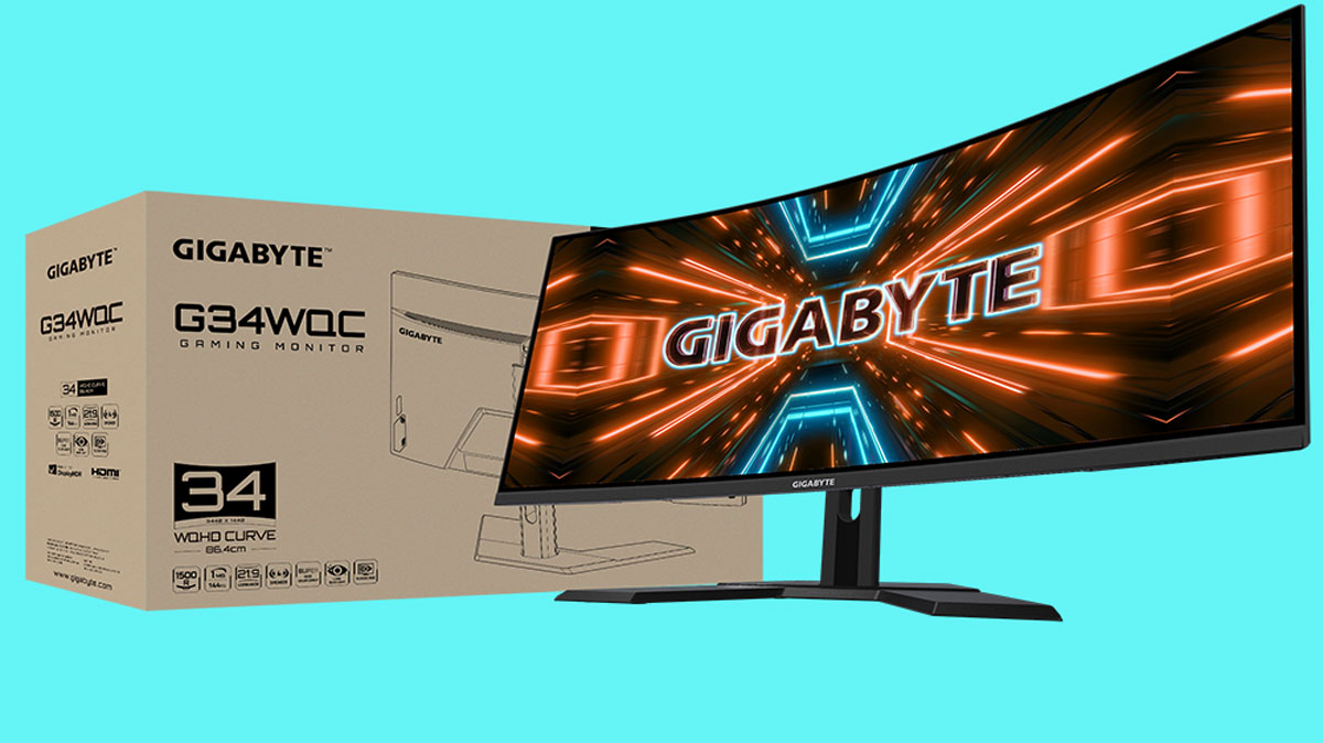 GIGABYTE Launches G34WQC Ultrawide Gaming Monitor