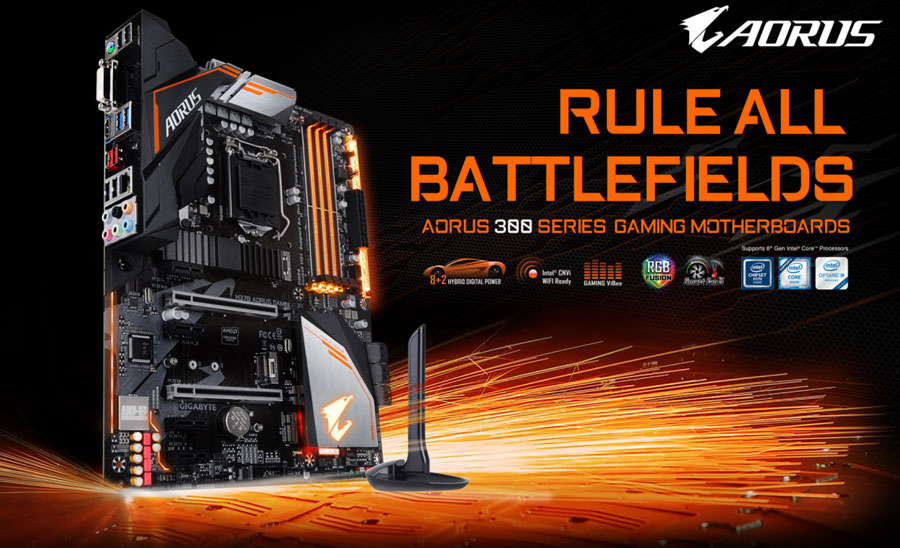 GIGABYTE Releases H370 And B360 AORUS GAMING WiFi Motherboards