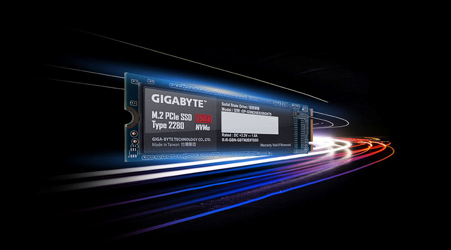 GIGABYTE Adds NVME SSD Into Their Storage Family