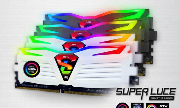 GeIL Extends Super Luce RGB SYNC Memory Compatibility