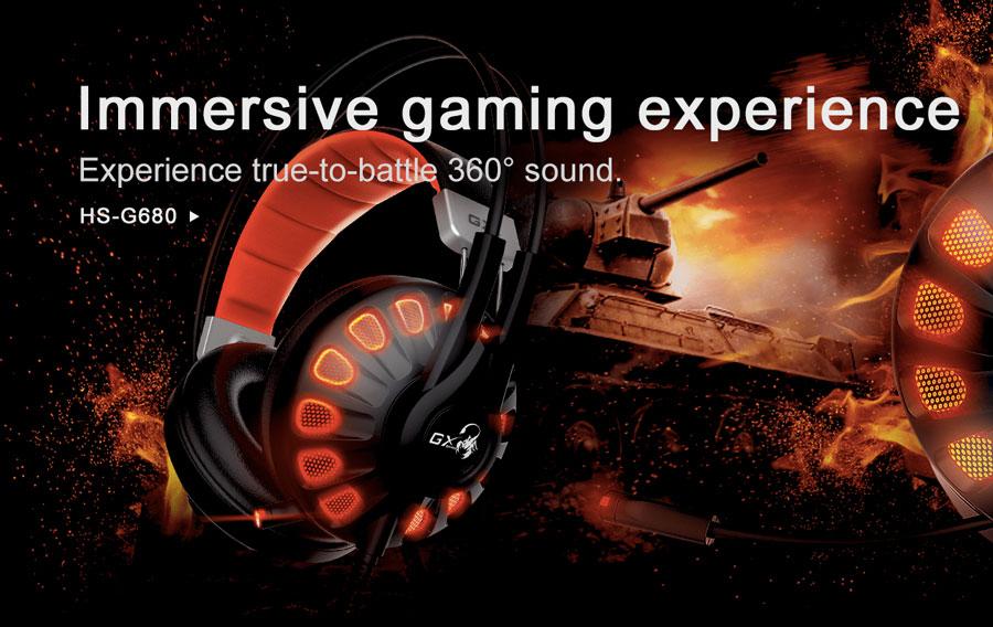 Genius Unveils The HS-G680 7.1 Gaming Headset