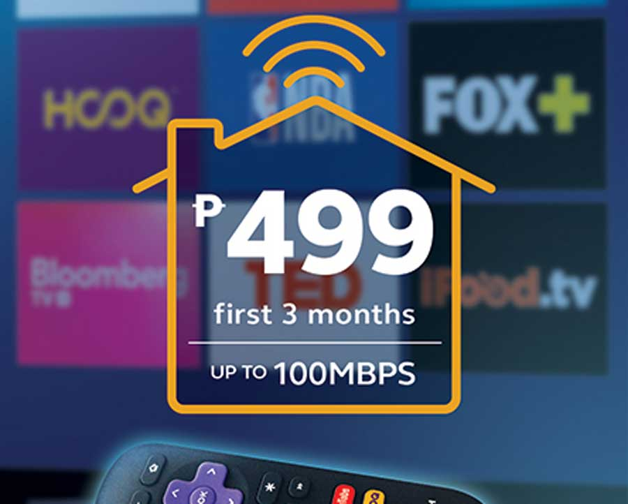 Globe At Home Goes P499 For The First 3 Months