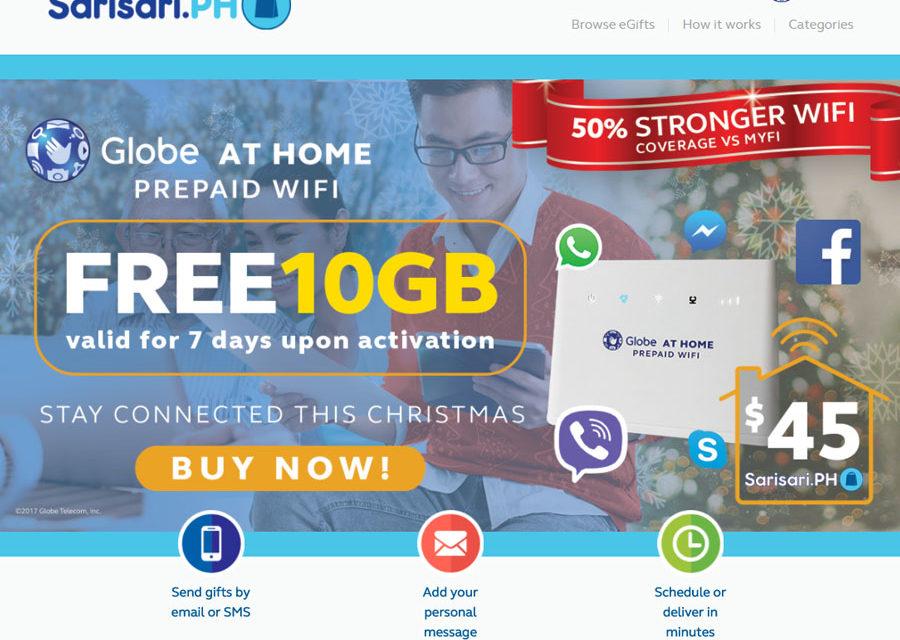 Globe Launches Partnership with eGift Store SariSariPH
