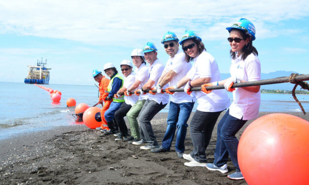 Globe's Undersea Cable System Finally Lands In Davao City