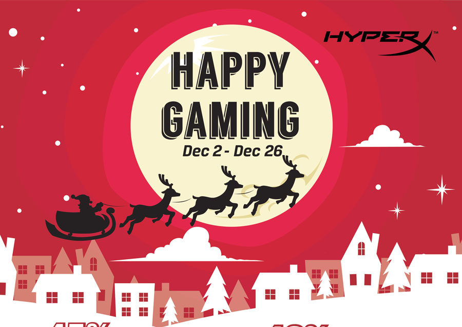 HyperX Offers Complete Gaming Gear Bundle Box