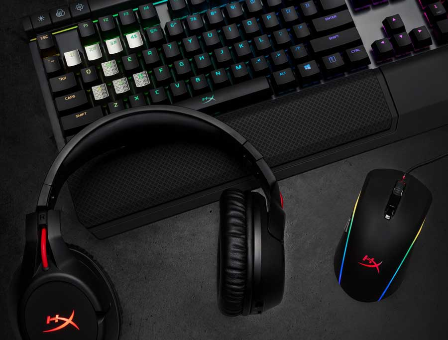 HyperX Reveals Cloud Flight Wireless Headset and Latest Gaming Gears