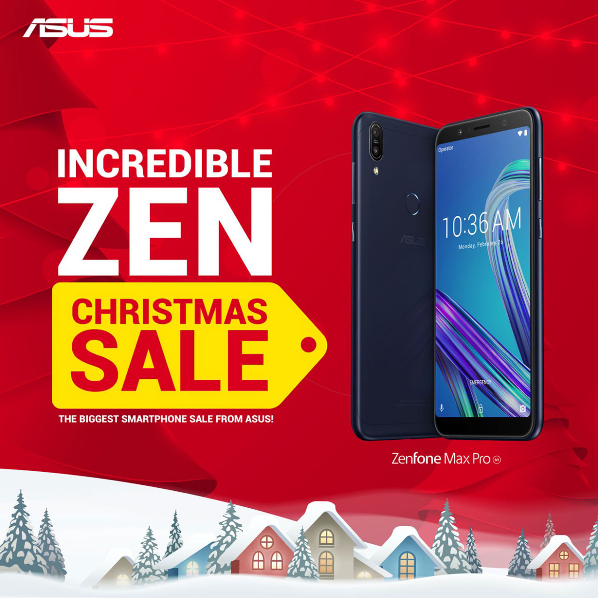 ASUS Outs Incredible ZEN Christmas Sale of 2018