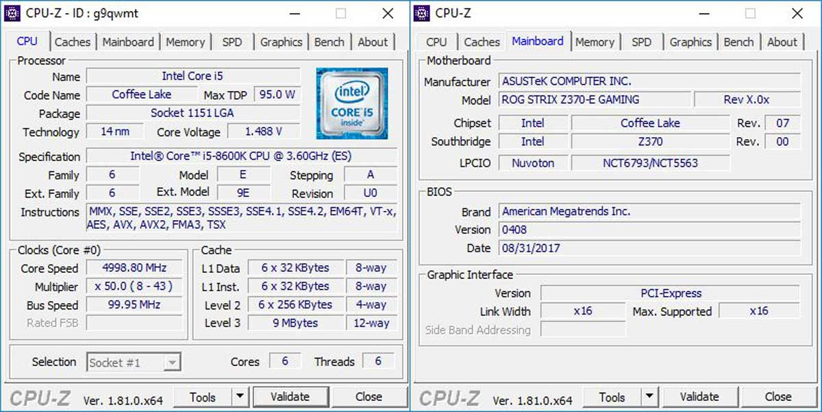 Intel-Core-i5-8600K-Benchmarks