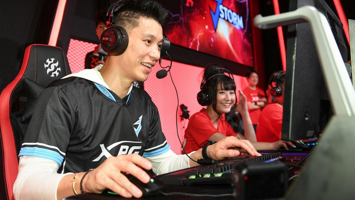 ADATA XPG Official Sponsor of NBA Star Jeremy Lin's J.Storm Esports