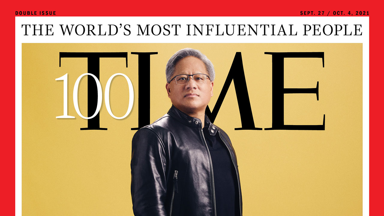 Jensen Huang Listed on TIME's 100 Most Influential People