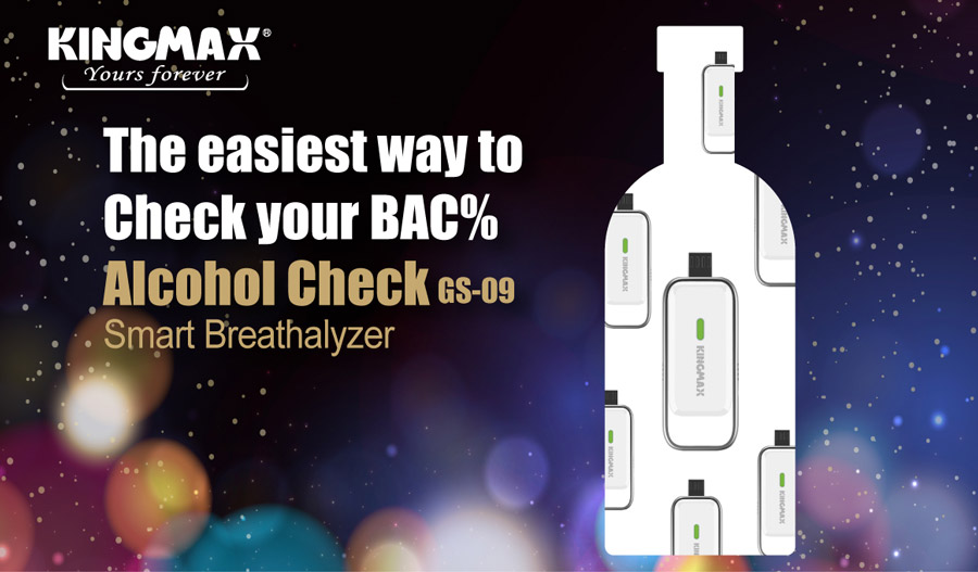 KINGMAX Launches Alcohol Check