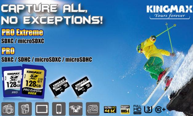 Kingmax Releases The Pro Extreme SDXC/microSDXC