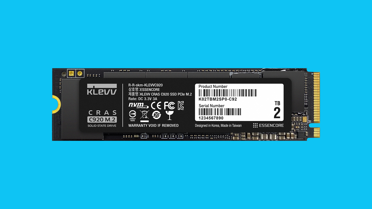KLEVV Launches CRAS C920 and C720 SSDs