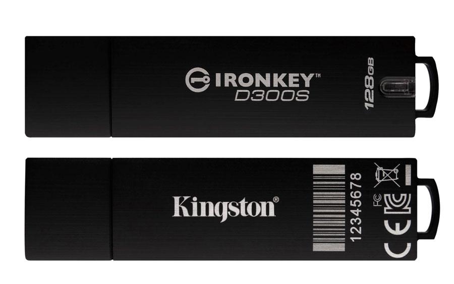 Kingston Enhances IronKey D300 Encrypted USB Features