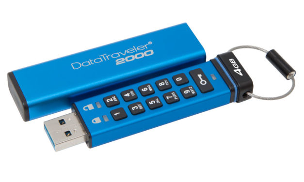 DataTraveler 2000 Gets Toned Down 4GB and 8GB Models