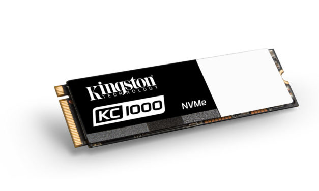 Kingston Introduces The KC1000 NVMe PCIe SSD