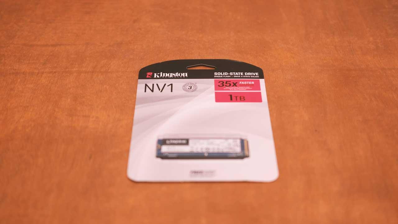 Kingston NV1 NVMe SSD 1