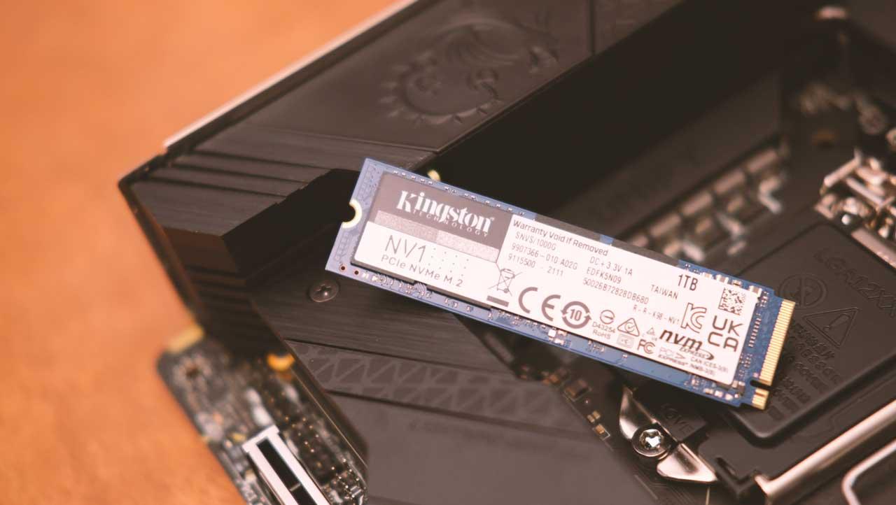 Review | Kingston NV1 1TB PCIe 3.0 x4 NVMe SSD