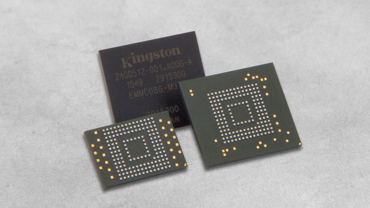Kingston Embedded Memory Featured on NXP Reference Boards