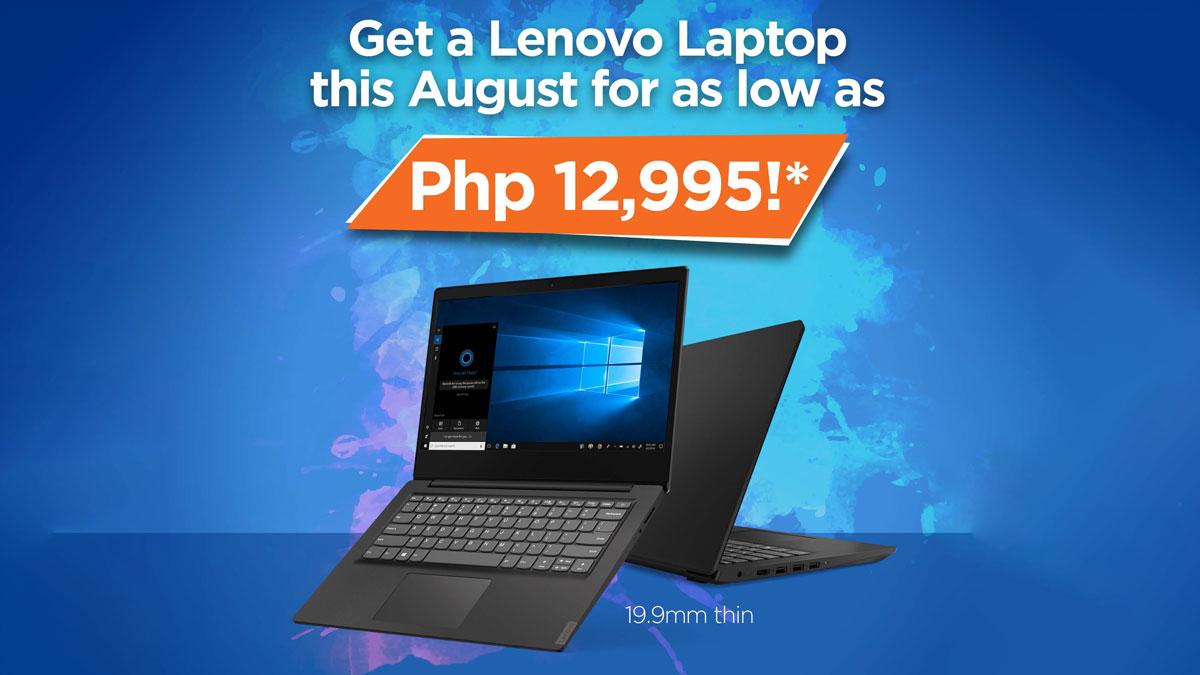 Lenovo Announces Limited-time Cash Rebates on Select Laptops