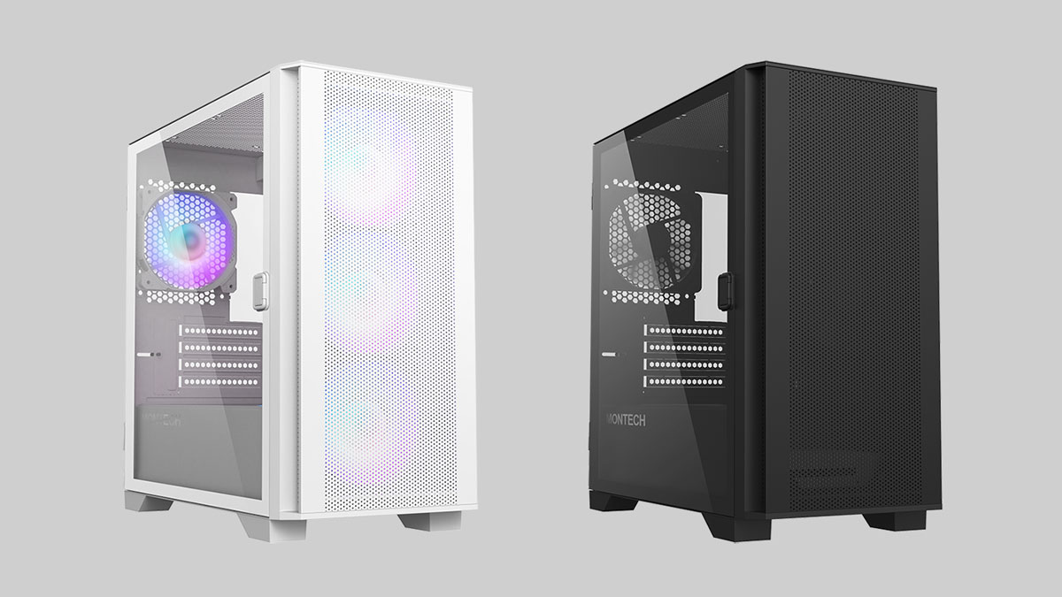 MONTECH Releases AIR 100 ARGB and Lite Micro-ATX Case