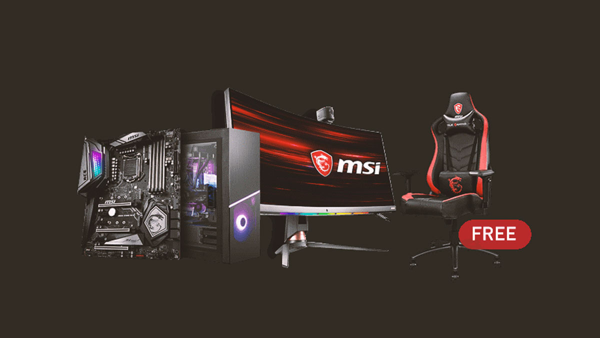 MSI Announces Full Steam Ahead Gaming Promotion