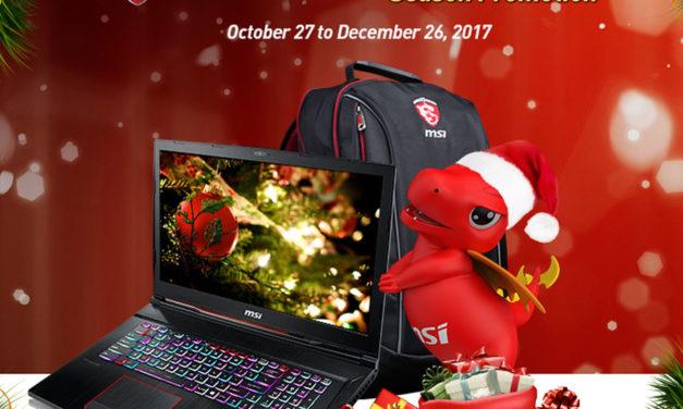 MSI PH 2017 Holiday Season Christmas Sale Promo