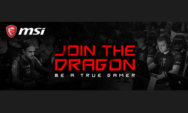 MSI Announces Gaming Team Sponsorship Program