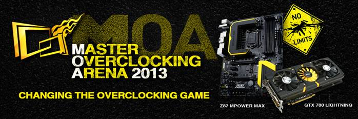 MSI 2013 Master Overclocking Arena Worldwide Grand Finals Detailed!