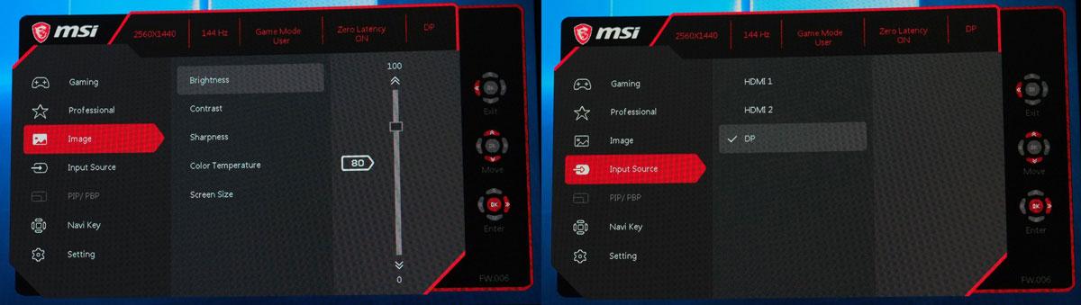 MSI Optix MAG321CQR OSD (2)