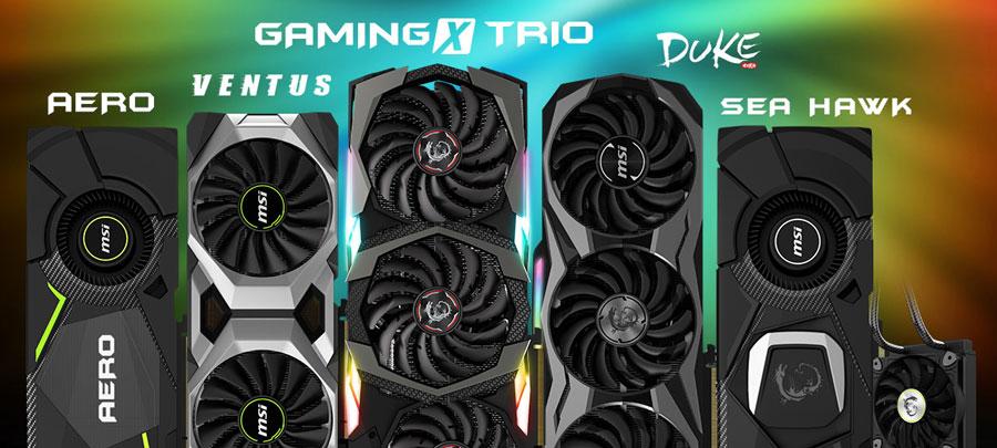 MSI Gaming Unveils Custom NVIDIA GeForce RTX GPU