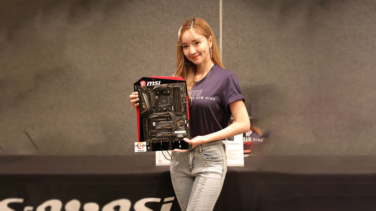 MSI Proudly Presents Its Top-End X570 Motherboards