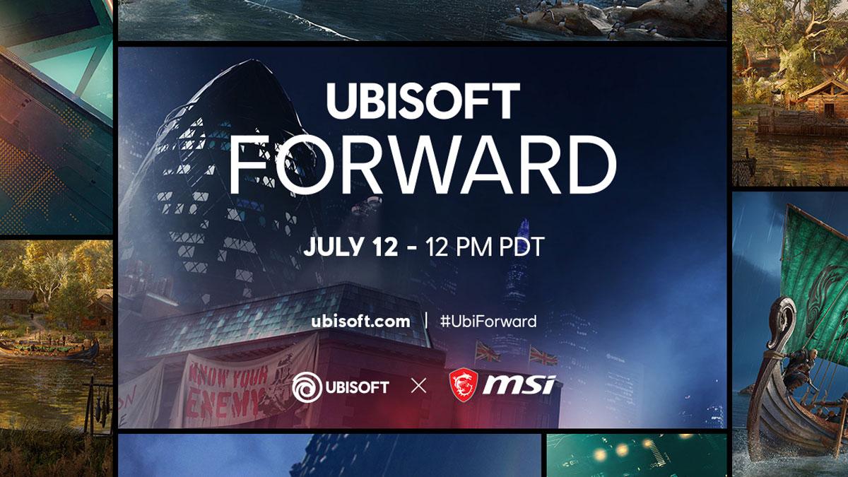 MSI Reveals Partnership with Ubisoft, Joins Forward Showcase