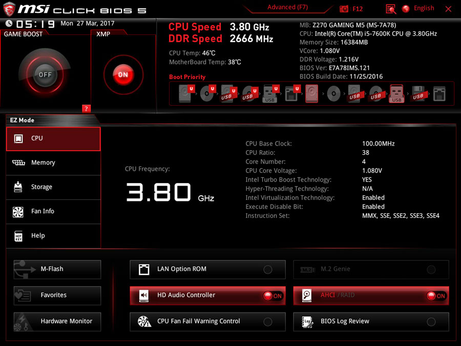 MSI-Z270-Gaming-M5-BIOS-1