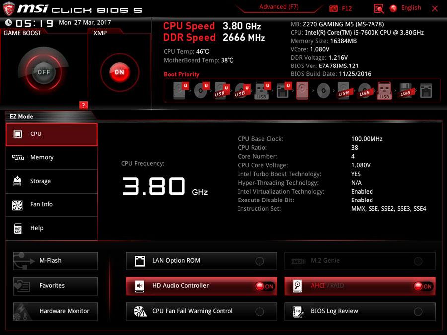 MSI-Z270-Gaming-M5-BIOS-1