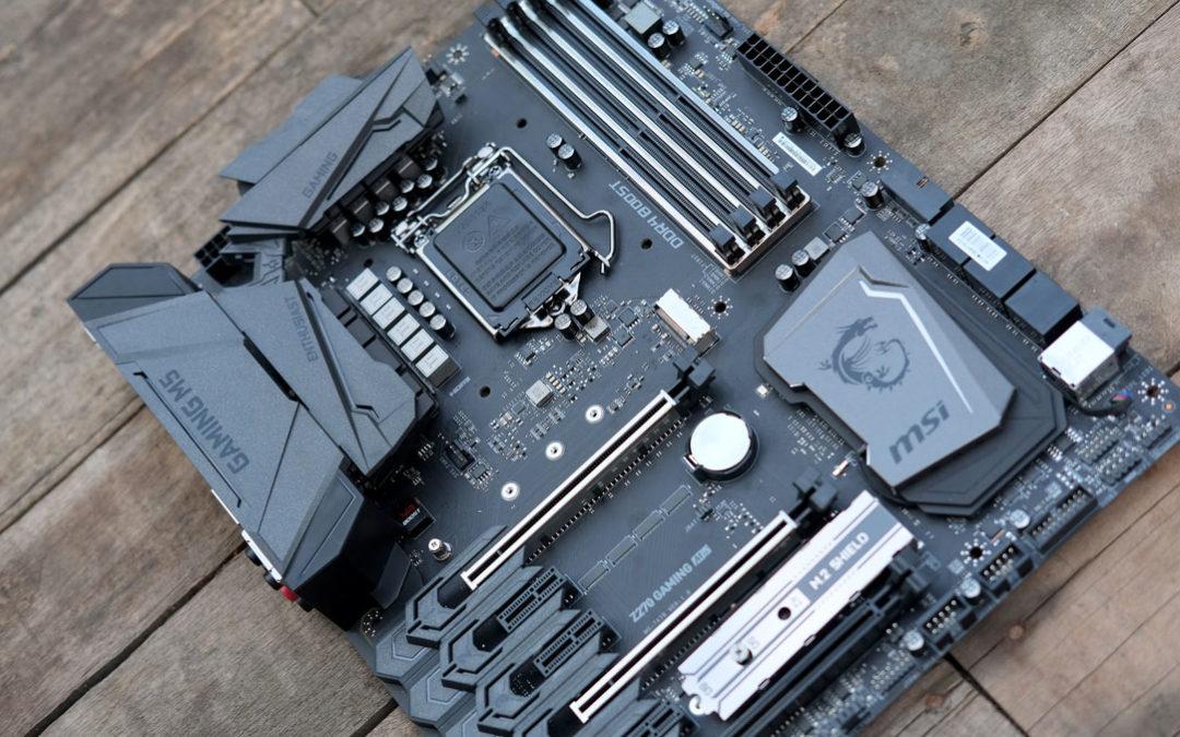 MSI Z270 Gaming M5 Motherboard Review