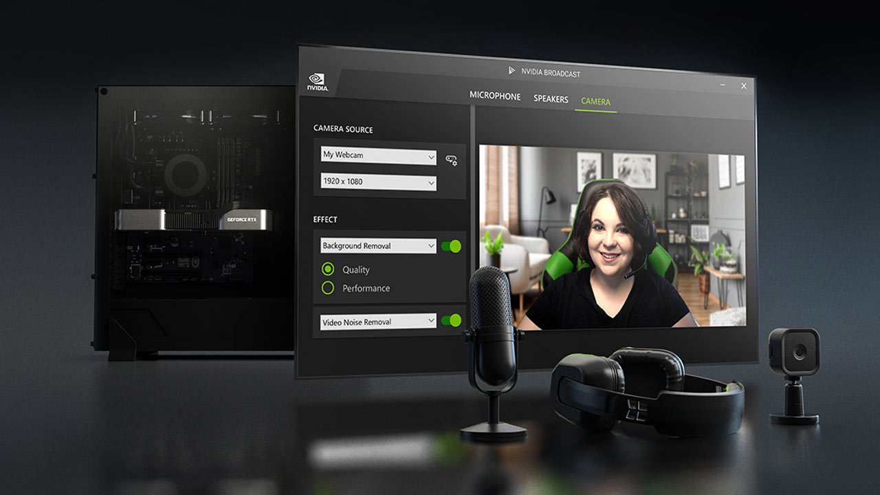 NVIDIA Broadcast v1.3 Update Now Available