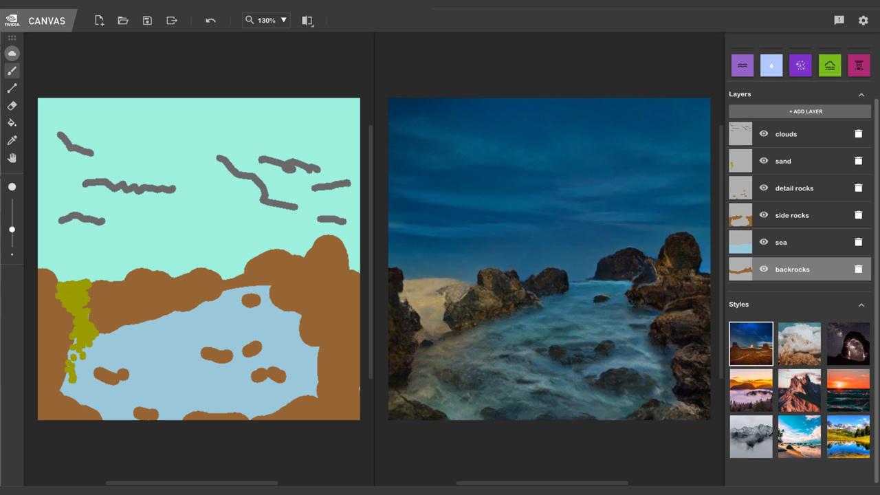 NVIDIA Canvas App Beta PR 2