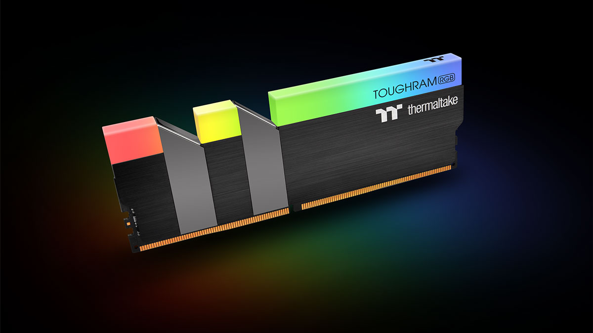 Thermaltake Adds NeonMaker Support for TOUGHRAM RGB