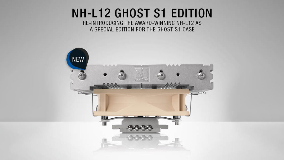 Noctua Presents NH-L12 SE CPU Cooler for the Ghost S1