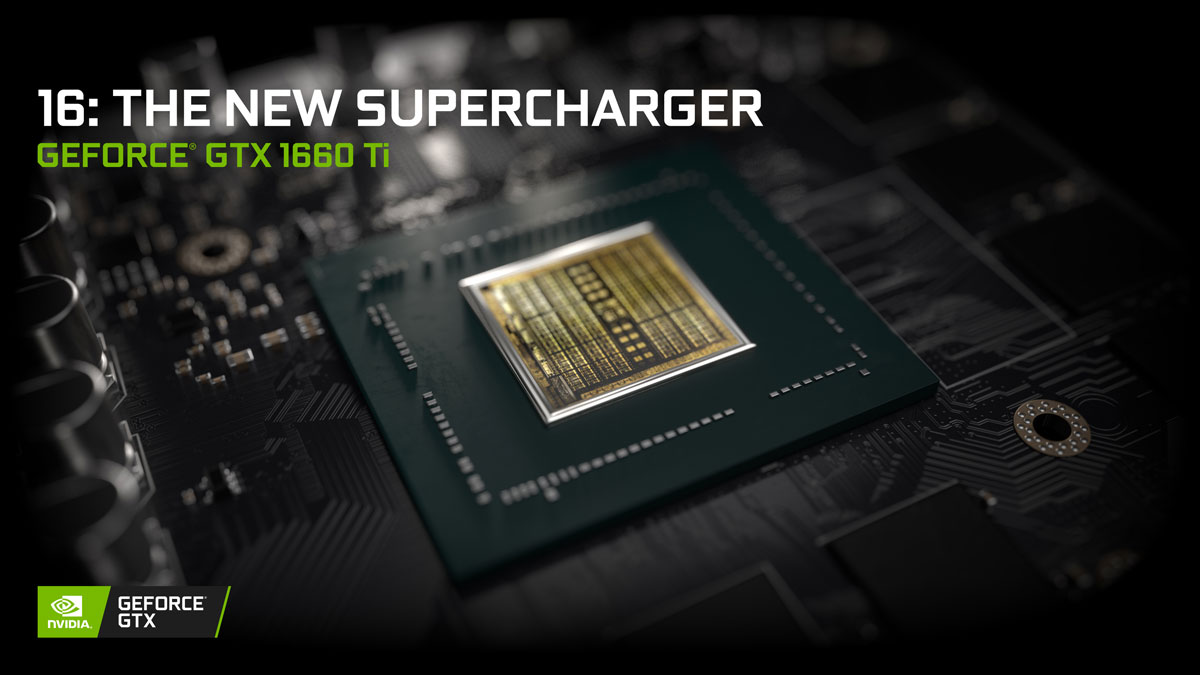 Nvidia Officially Releases GeForce GTX 1660 Ti