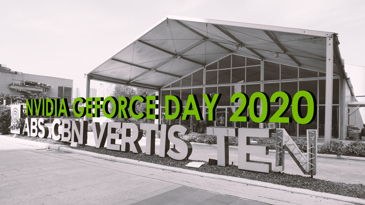 The Booths and Activities at Nvidia GeForce Day 2020