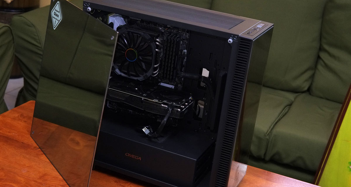 OMEGA X6 Titan Mirror Edition Tempered Glass Case Review
