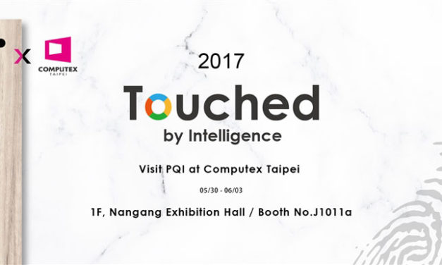 "PQI ""Touched by Intelligence"" COMPUTEX 2017"