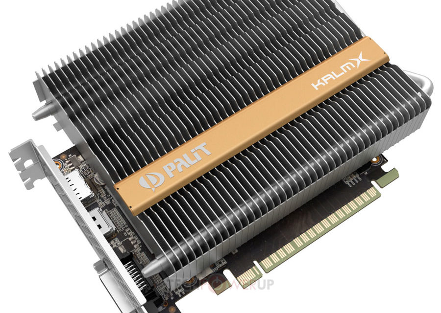 Palit Announces The Fanless GTX 1050 Ti KalmX Graphics Card
