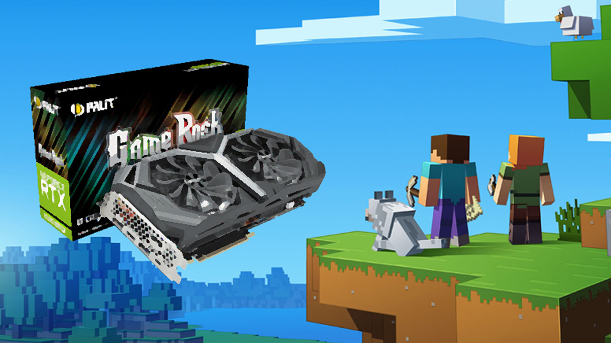 Win a GTX 2080 SUPER by Designing a PALIT Logo in Minecraft