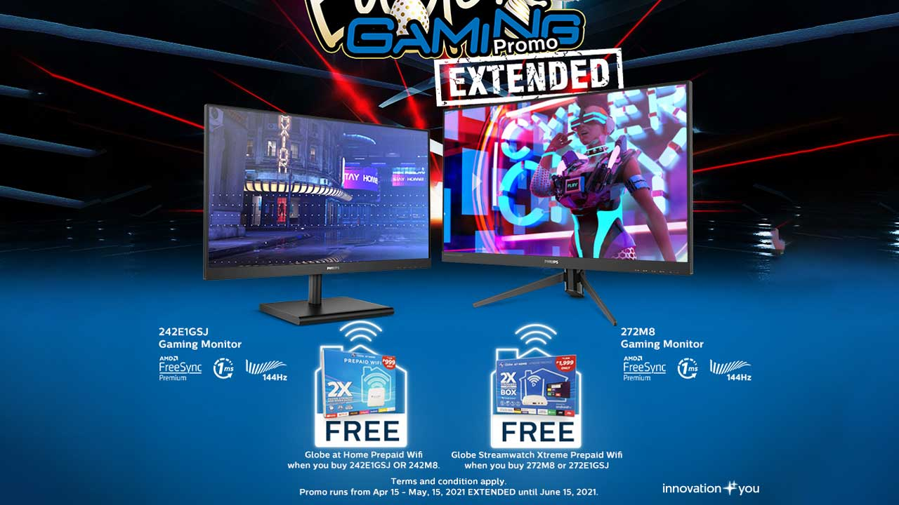 Philips Extends Gaming Monitors Easter Promo Until June 15!