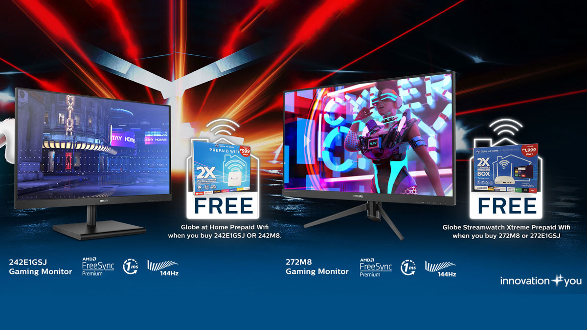 Philips Gaming Monitors x Globe Launches Easter Gaming Promo